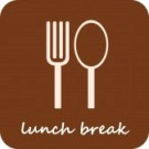 11556642-lunch-break--isolated-vector-icon-on-light-brown-background