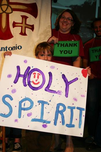 Holy Spirit youth.
