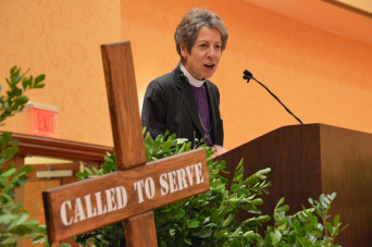The Most Rt. Rev. Dr. Katharine Jefferts Schori