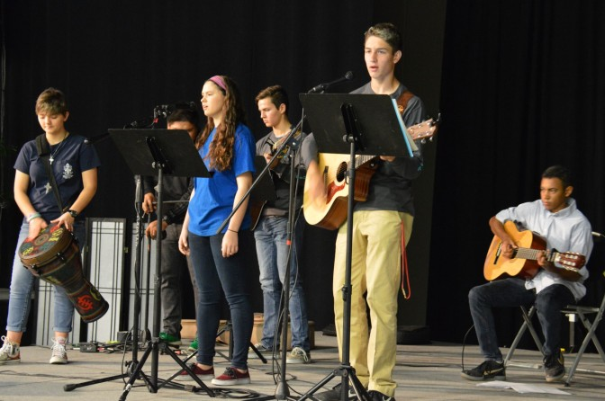 St. Alban's Valley Youth Band Offers Music at Council