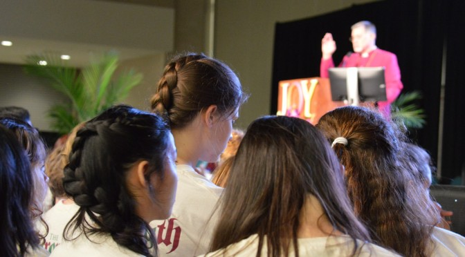 Commissioning Youth In Action and a Thank You to The Rev. Stockton Williams