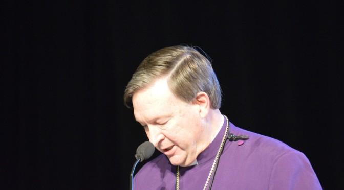 Opening Prayers by Bishop Reed