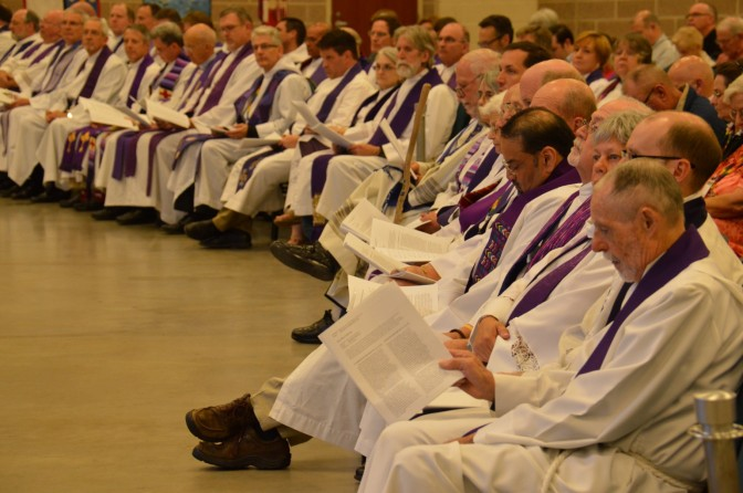 Eucharist at Diocesan Council in Photos