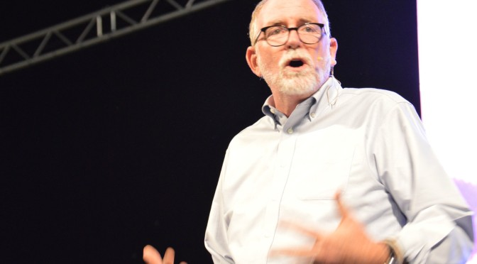 Bob Goff Shares Joy at Council Banquet
