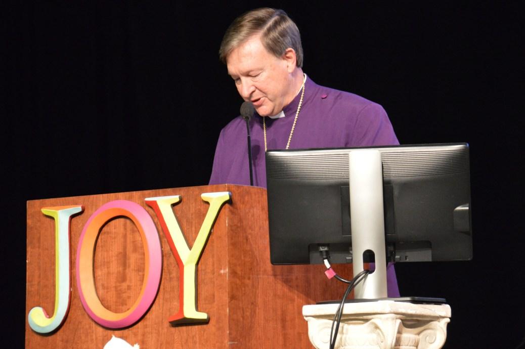 Bishop Reed joy