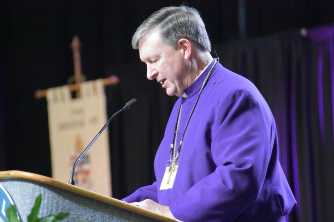 Opening Prayers - Bishop Reed