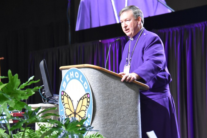 Bishop Reed's Address to Council