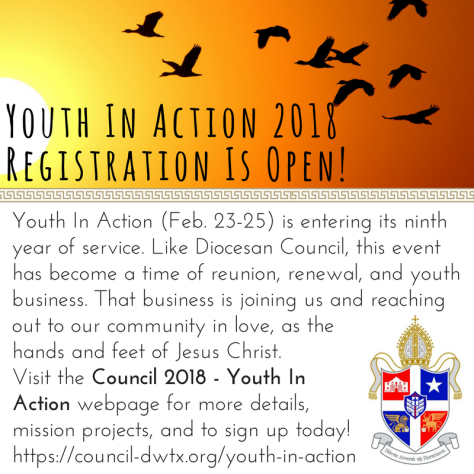 Youth In Action 2018 Registration Is Open!