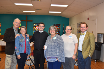Pre-Council hosts at St. Philip's, Beeville