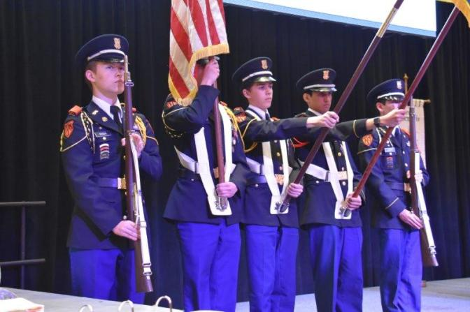 Posting of the Colors – TMI Episcopal Corps of Cadets