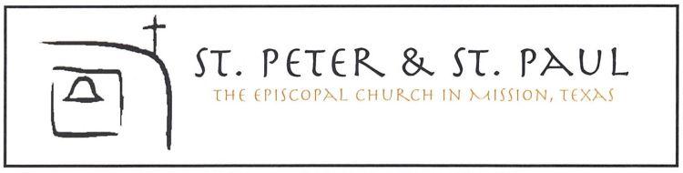 StPeterStPaul Letter Header