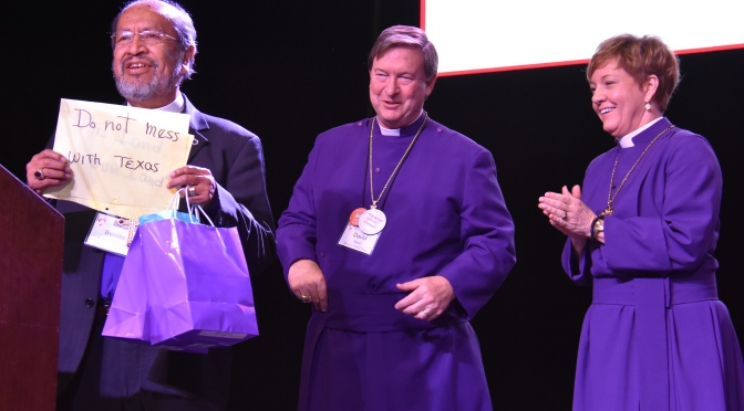Honoring of the Rt. Rev. Benito Juarez-Martinez, Bishop of the Diocese of Southern Mexico