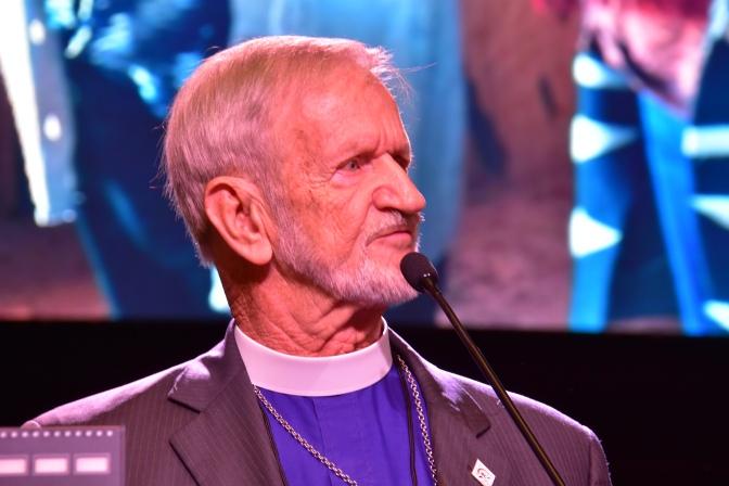"""""""A Block at a Time"""" – The Rt. Rev. David Bailey, Bishop of Navajoland"""