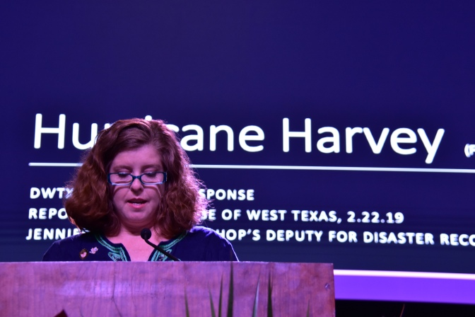 """Resiliency, Hope, and Determination in the Wake of Harvey""- Disaster Recovery Report"