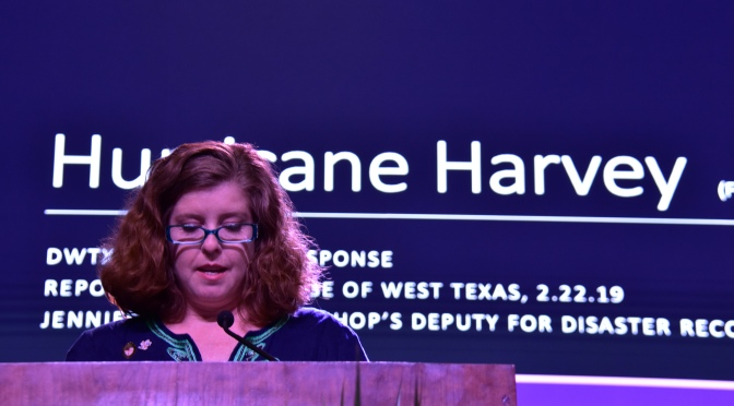 """""""Resiliency, Hope, and Determination in the Wake of Harvey""""- Disaster Recovery Report"""
